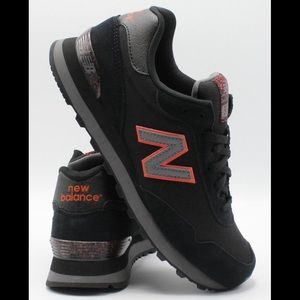 New Balance 515 Black Suede Sneakers US 12